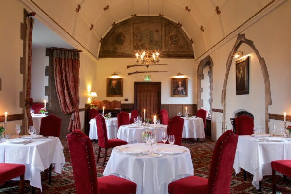 Restaurant at Amberley Castle
